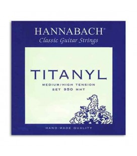 Hannabach Classical Guitar String Set Titanyl Medium High Tension E950MHT