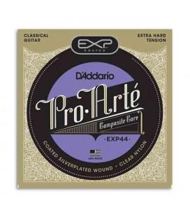 Jogo de Cordas Daddário EXP 44 para Guitarra Clássica Extra Forte