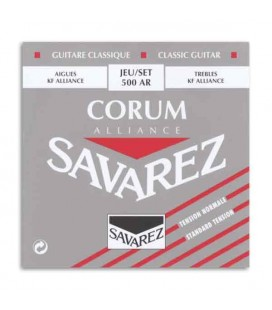 Savarez String Set 500 AR Classical Guitar Corum Alliance Medium Tension