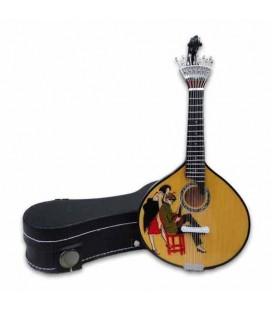 Miniatura CNM 526 Guitarra Portuguesa con Estuche Stuart Carvalhais