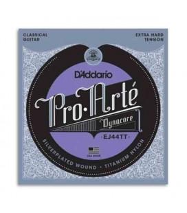 String Set Daddario EJ44TT for Classical Guitar Titanium