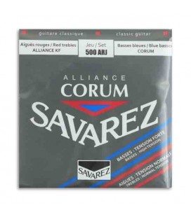 Savarez Classical Guitar Strings Set 500 ARJ Corum Alliance