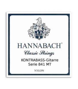 Hannabach Acoustic Bass Guitar String Set Nylon Medium Tension E841MT4S