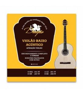 Dragão Bass Guitar String Set 036 4 Strings 036