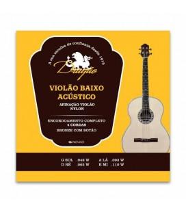 Dragão Acoustic Bass Guitar String Set 038 Nylon