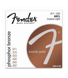 String Set Fender 60CL Folk Guitar Phosphor Bronze 011