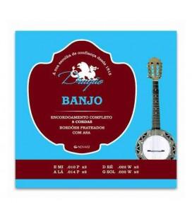 Jogo de Cordas Dragão 035 para Banjo de 4 cordas