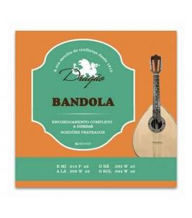 Juegos de Cuerdas Dragão 018 para Bandola 8 Cuerdas