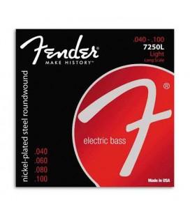 Jogo de Cordas Fender 7250L para Baixo 40 100