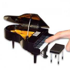 Miniatura Collection MIN 0139 Piano de Cauda com Banco