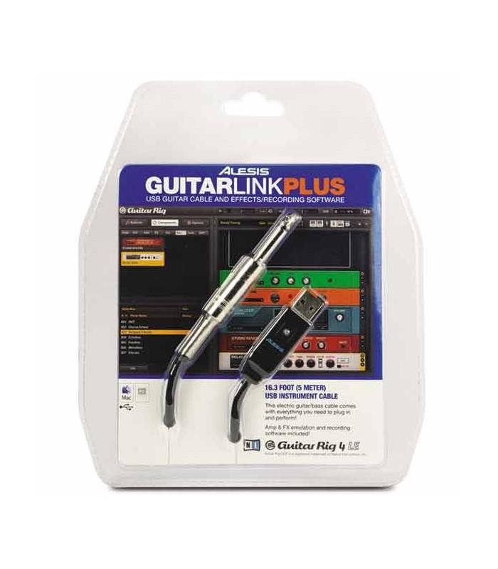 Embalagem do interface Alesis Guitarlink Plus