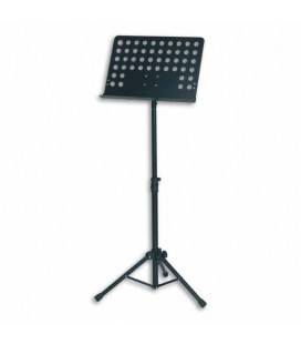 FX Music Stand F900720  Orchestra in Metal Black