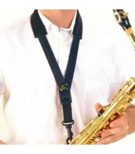 BG Alto or Tenor Saxophone Strap S10SH Black