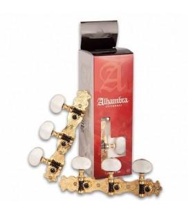 Par de Carrilhões Alhambra 9487 para Guitarra Clássica Dourado N2