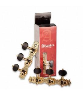 Clavijeros Alhambra 9489 para Guitarra Clásica Oro Viejo nº 3
