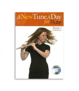 Livro Seven Muses BM11418 A New Tune a Day Flute Book 1