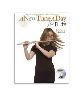 Livro Music Sales BM12166 A New Tune a Day Flute Book 2