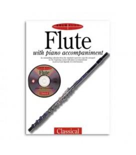Livro Music Sales AM945648 Solo Plus Classical Flute Book CD