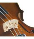 Body and bridge of violin Stentor Student II