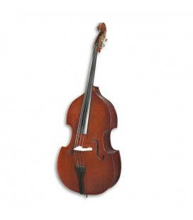 Double Bass Stentor Conservatoire 3/4 with Bow and Bag