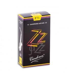 Palheta Vandoren SR4125 para Saxofone Alto Jazz nº 2 1/2
