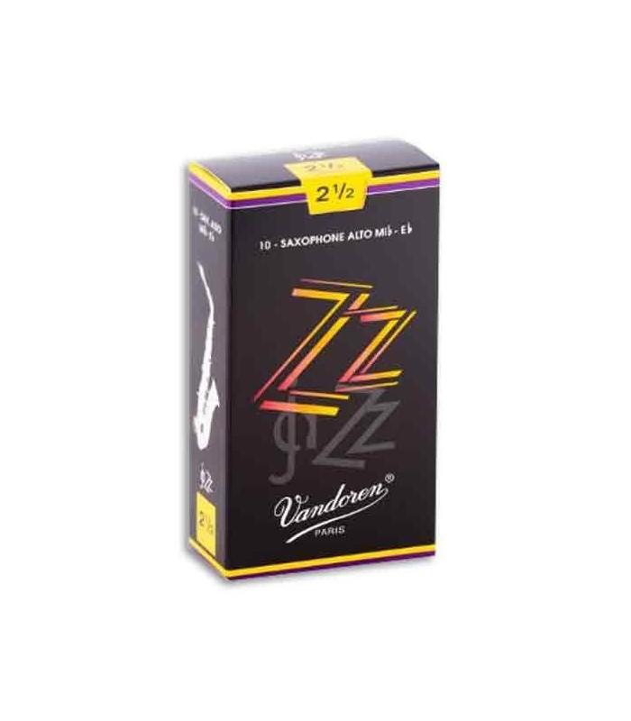 Vandoren Alto Saxophone Reed SR4125 Jazz nº 2 1/2