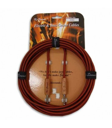 Kisound Cable for Guitar 6m Cut Off KSSUW20