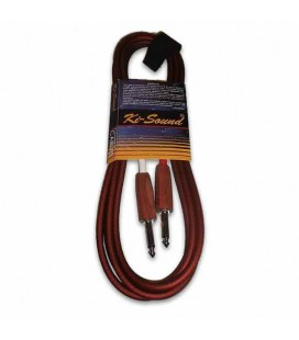 Kisound Cable for Guitar 3m Cut Off KSSUW10