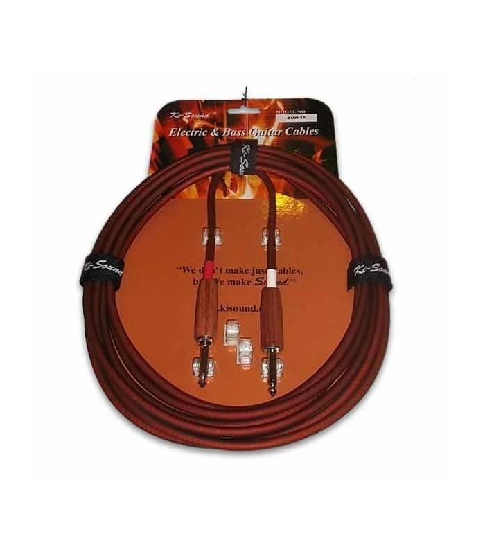 Kisound Cable for Guitar 4,5m Cut Off KSSUW15