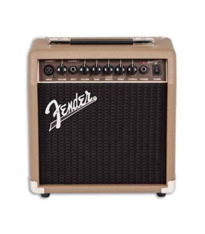 Amplificador Fender Acoustasonic 15W foto frontal