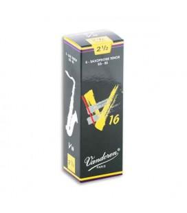 Palheta Vandoren SR7225 para Saxofone Tenor V16 nº 2 1/2