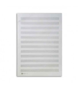 Paper Music Notebook 12P/Alto Sheets 1512