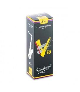Palheta Vandoren SR7235 para Saxofone Tenor V16 nº 3 1/2