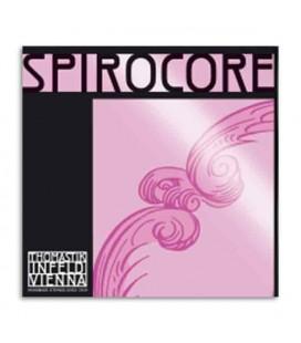 Corda Individual p/Cello Spirocore 4/4 S-25 4/4 1ª Lá