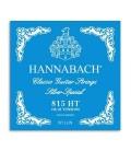 Jogo de Cordas Hannabach E815HT Guitarra Clássica Nylon Alta Tensão