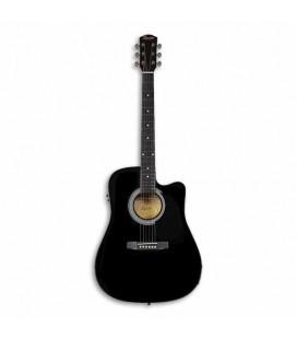 Guitarra Eletroacústica Fender Squier SA 105CE Negra