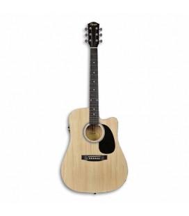 Foto da guitarra Squier SA-105CE Natural