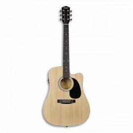 Guitarra Eletroacústica Fender Squier SA 105CE Natural