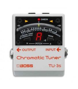 Pedal Boss TU 3S Afinador Cromático