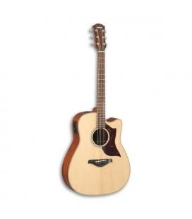 Guitarra Eletroacústica Yamaha A1M NAT Abeto Mogno Artesanal Dreadnought com Estojo