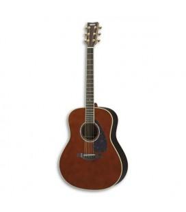 Guitarra Eletroacústica Yamaha LL6 ARE DT Abeto Pau Santo Dark Tinted com Gigbag
