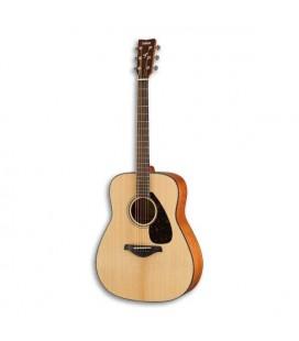 Foto frontal da guitarra Yamaha FG800 natural