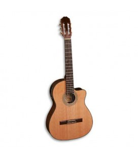 Guitarra Clássica Cedro Pau Santo Modelo 77 CTW Equalizador Fishman