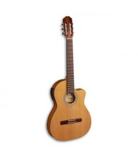 Guitarra Clássica Madrigal Cedro Sapelly Cutaway Modelo 63 CTW Equalizador Fishman