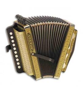 Concertina Hohner 114 C 2 Bajos 4 Voces 2 Voces