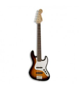 Guitarra Bajo Fender Squier Affinity Jazz Bass V 5 Cuerdas RW Brown Sunburst