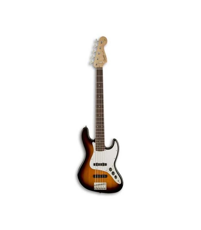 Guitarra Baixo Squier Affinity Jazz Bass V 5 Cordas RW Brown Sunburst