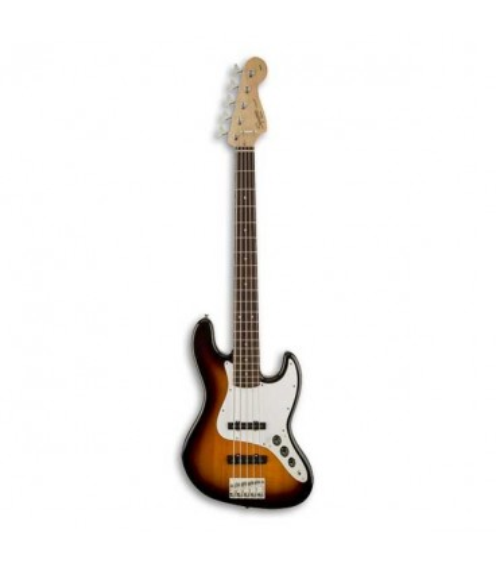 Guitarra Bajo Squier Affinity Jazz Bass V 5 Cuerdas RW Brown Sunburst