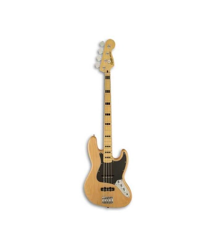 Guitarra Baixo Squier Vintage Modified Jazz Bass 70S MN Natural