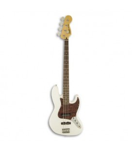Guitarra Bajo Fender Squier Vintage Modified Jazz Bass RW Olympic White